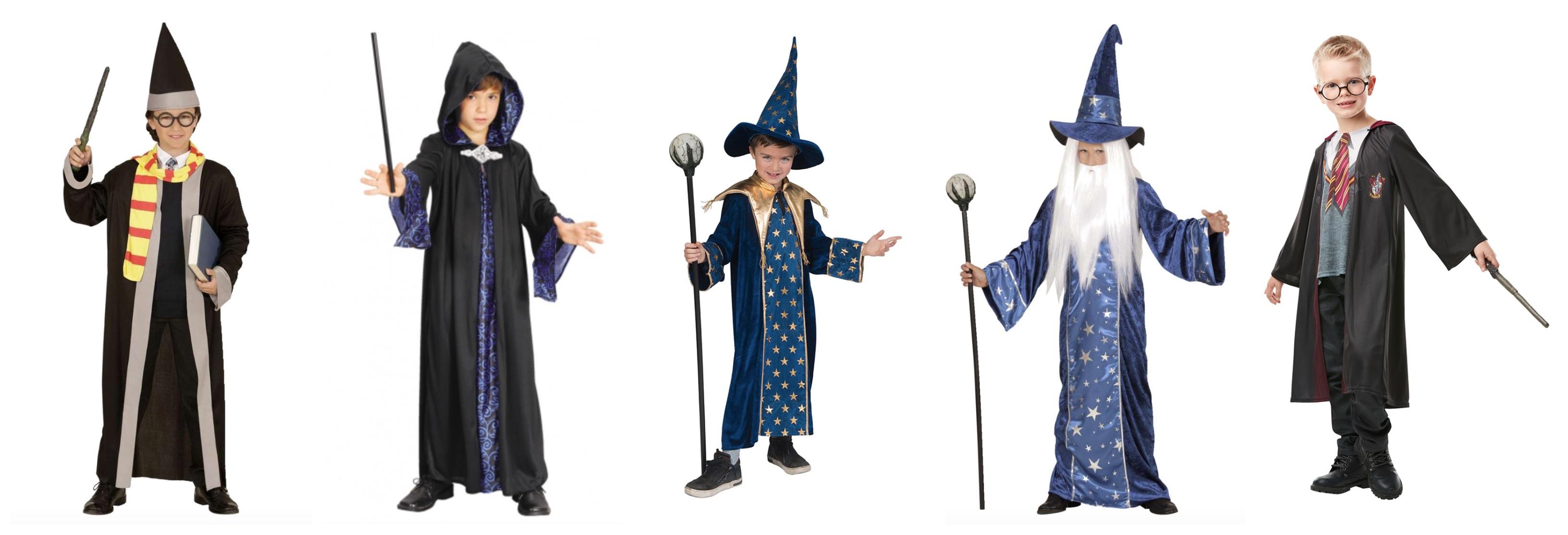 troldmand kostume til børn - Troldmand kostume til børn