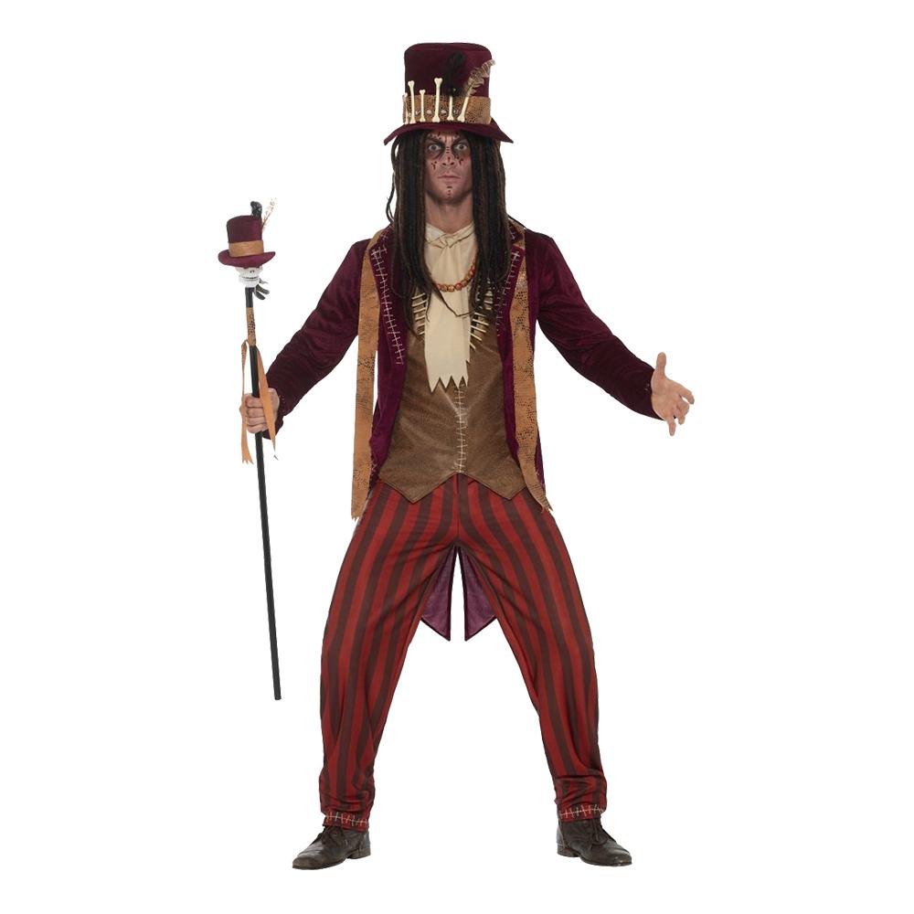 voodoo heksedoktor kostume - Voodoo kostume til voksne
