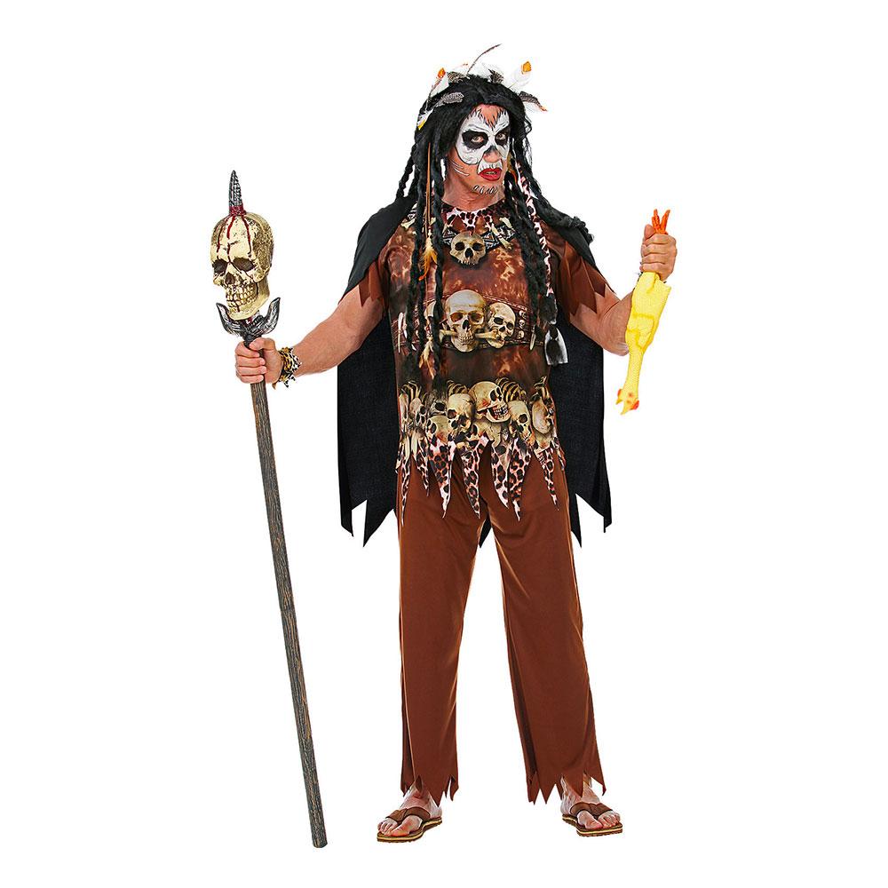 voodoo konge kostume - Voodoo kostume til voksne