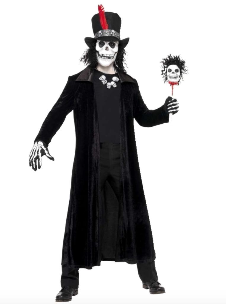 voodoo kostume til mænd 763x1024 - Voodoo kostume til voksne