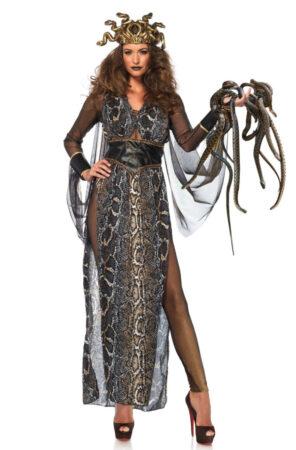 medusa luksus kostume slange kostume til voksne medusa gudinde kostume