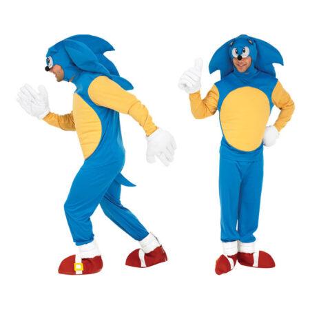 sonic kostume til voksne sonic the hedgehog udklædning sonic kostume til voksne
