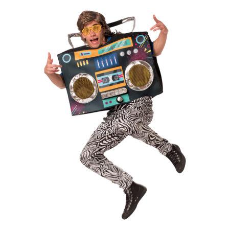 ghettoblaster kostume 80er fest kostume musik kostume ghettoblaster udklædning hip hop kostume