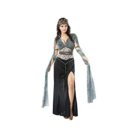 medusa kostume til kvinder gudinde kostume græsk kostume guddommeligt kostume til voksne