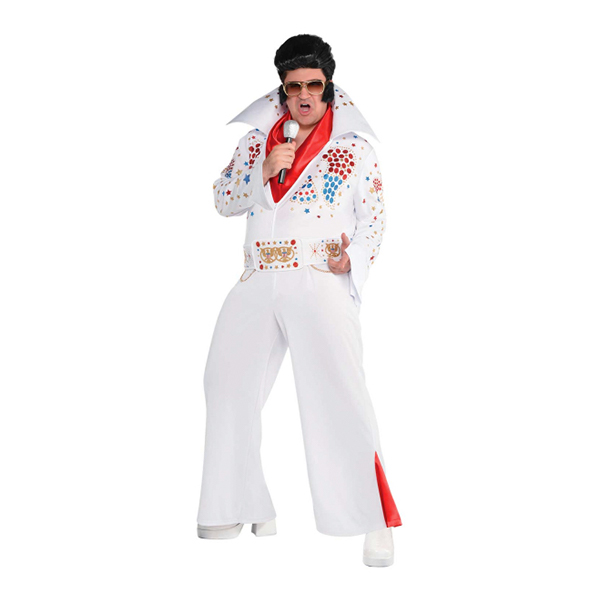elvis rock´n roll kostume - Rockstjerne kostume til voksne