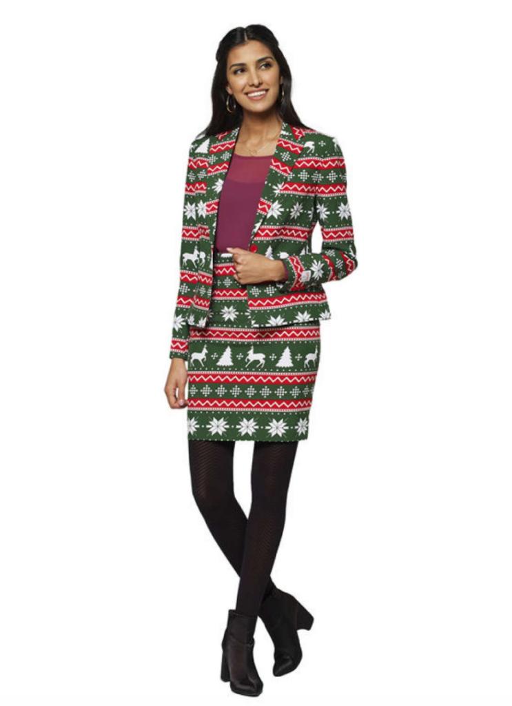 feminint jule jakkesæt 743x1024 - Jule jakkesæt til kvinder