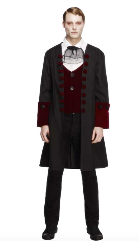 gotisk dracula kostume 590x1024 - Gotisk kostume til voksne
