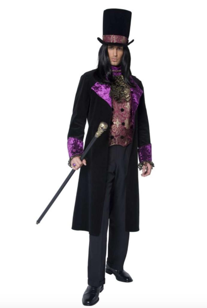 gotisk hersker kostume 691x1024 - Gotisk kostume til voksne
