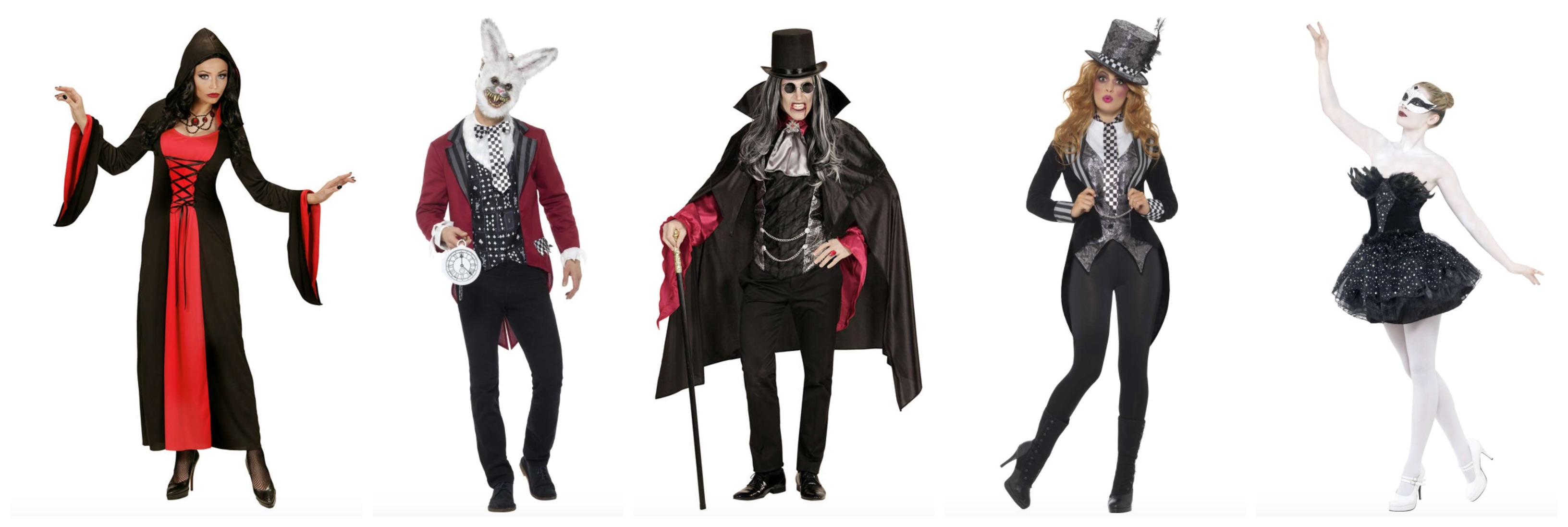 gotisk kostume til voksne - Gotisk kostume til voksne