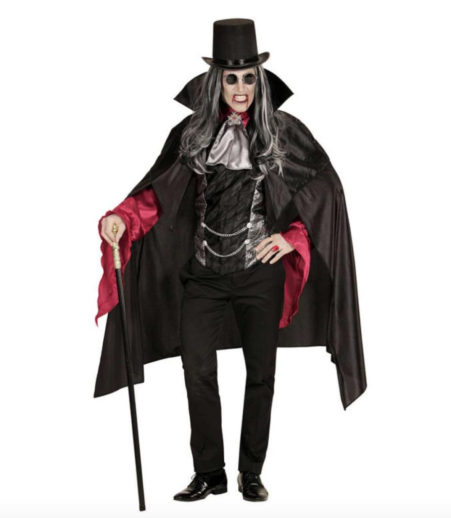 gotisk vampyr mand kostume 891x1024 - Gotisk kostume til voksne