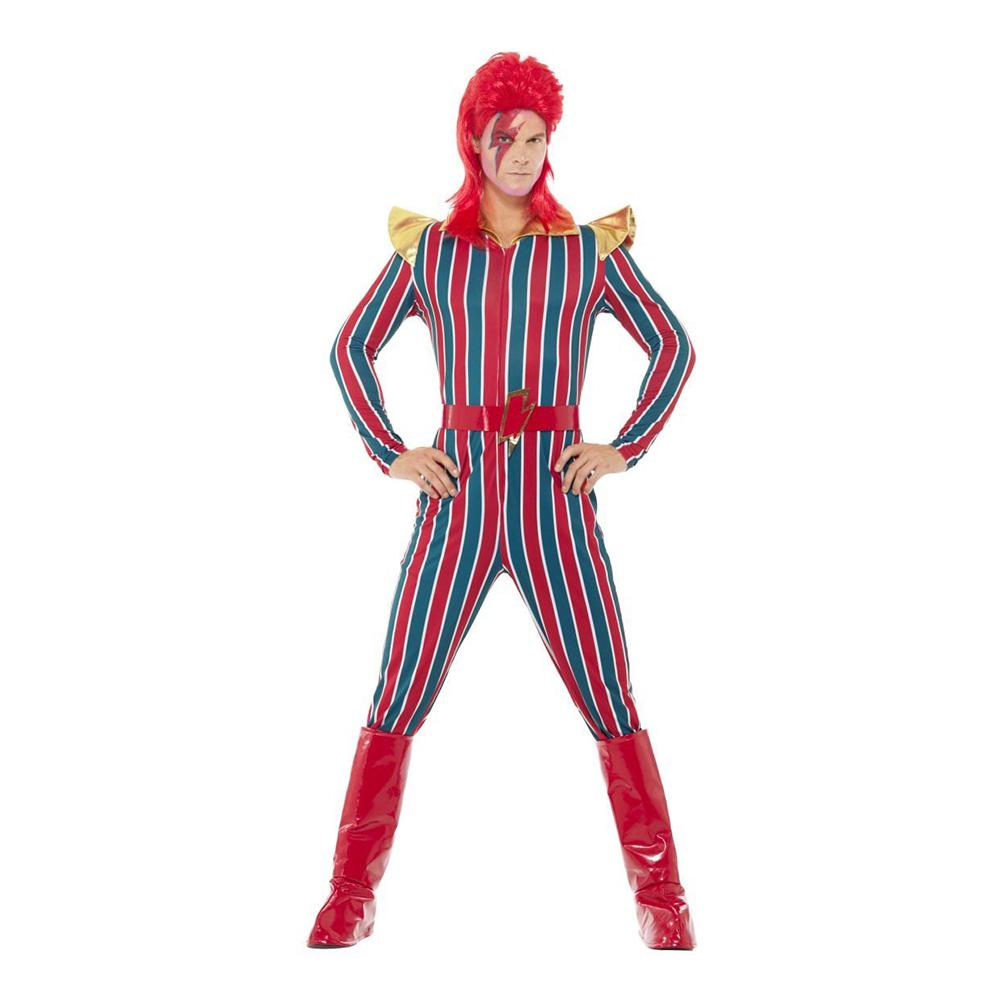 hardrockstjerne kostume - Rockstjerne kostume til voksne
