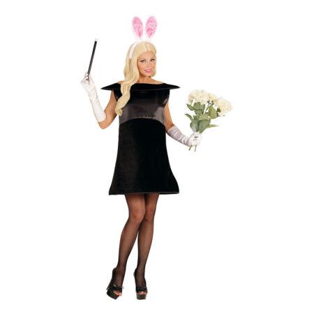 kanin op af hatten kostume sjovt cirkus kostume til kvinder