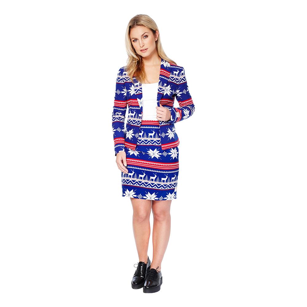 opposuits rudolph jakkesæt til kvinder - Jule jakkesæt til kvinder