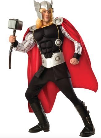 thor premium kostume 328x450 - Thor kostume til voksne