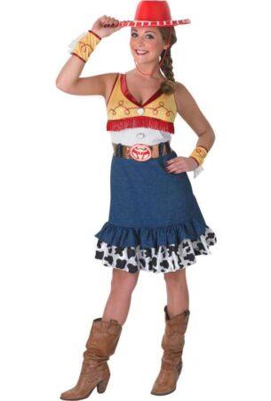 toy story jessie kostume 305x450 - Toy Story kostume til voksne