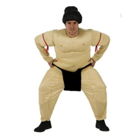 sumobryder kostume ikke oppusteligt sumo kostume heldragt sumo udklædning