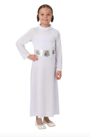 Star wars prinsesse leia kostume 294x450 - Star Wars kostume til børn