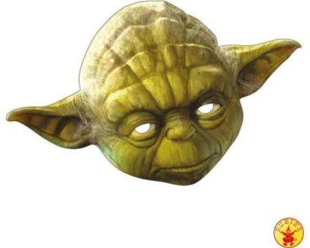 Yoda papmaske 450x360 - Star Wars - Yoda kostume til børn og voksne