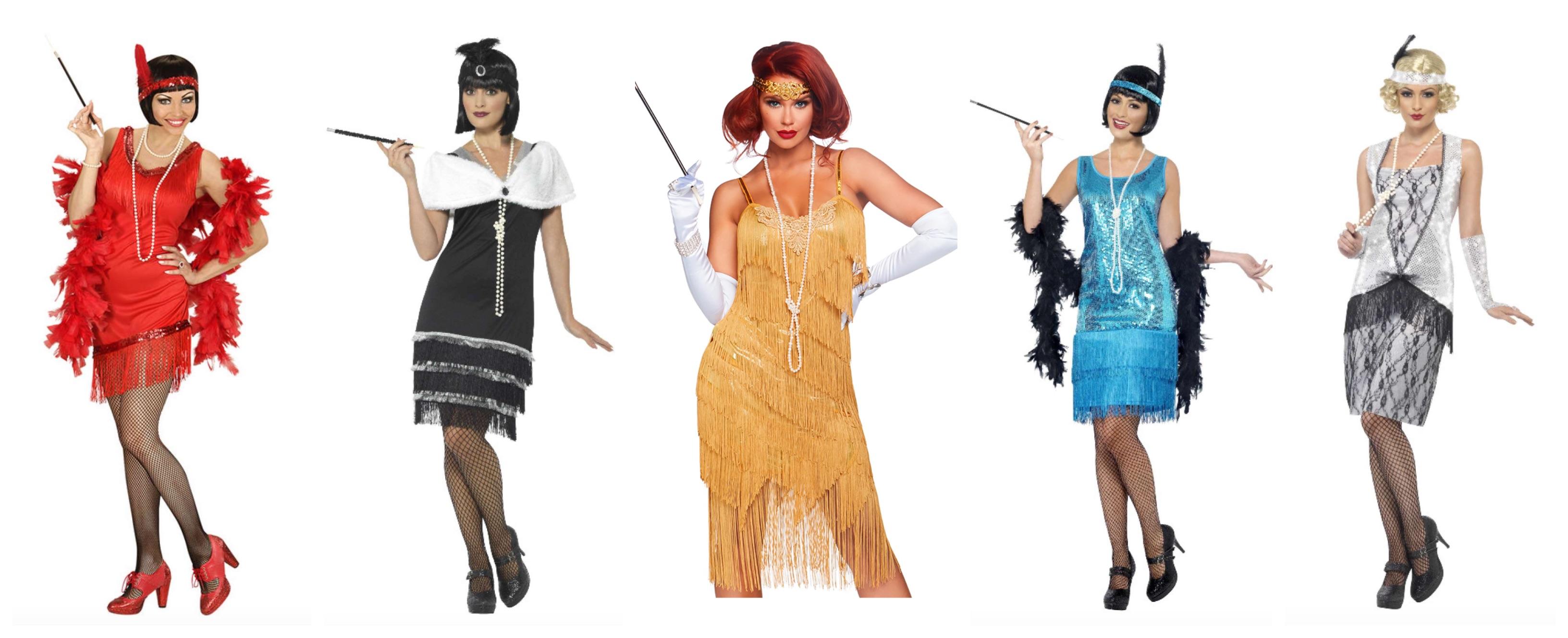 charleston kostume - Charleston kostume til voksne