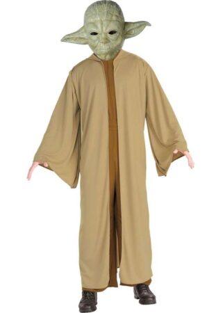 star wars kostume til voksne 1 311x450 - Star Wars - Yoda kostume til børn og voksne
