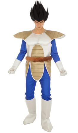 vegata kostume til voksne dragon ball udklædning til voksne