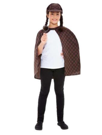 sherock homes børnekostume sherlock homes udklædning til barn detektiv kostume til børn