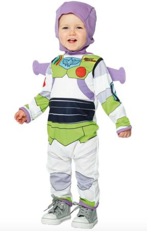 Buzz lightyear baby kostume 286x450 - Disney kostume til baby