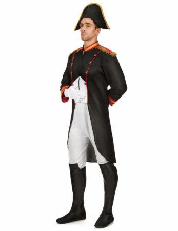 klassisk napoleon kostume til voksne napoleon udklædning til mænd historisk temafest fransk temafest kostume