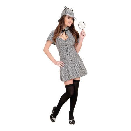 kvindelig detektiv udklædning kvindelig sherlock homes kostume