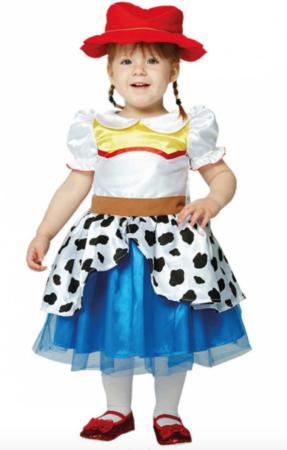 Jessie Toy story baby kostume 287x450 - Disney kostume til baby