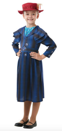 Mary poppins kostume 214x450 - Mary Poppins kostume til børn