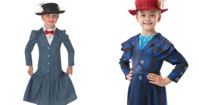 mary poppins kostume til børn, mary poppins udklædning til børn, mary poppins kostumer, mary poppins børnekostumer, mary poppins fastelavnskostume til børn