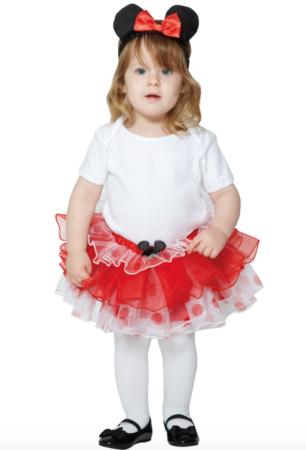 Minnie mouse babykostume 306x450 - Disney kostume til baby