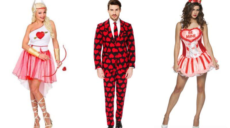 kostumer til valensdag, valentinsdag kostume til voksne, valentin kostume til voksne, røde kostumer til voksne, valentinsdag voksenkostumer, fastelavnskostumer til voksne 2020, sidste skoledag kostumer 2020, karneval kostumer til voksne 2020