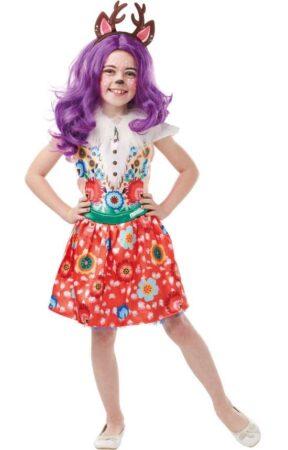 danessa deer kostume til børn enchantimals børnekostume fastelavnskostume til piger
