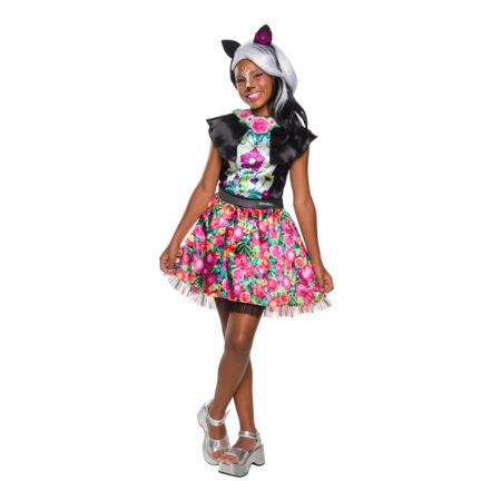 enchantimals kostume til piger sage skunk kostume fastelavn