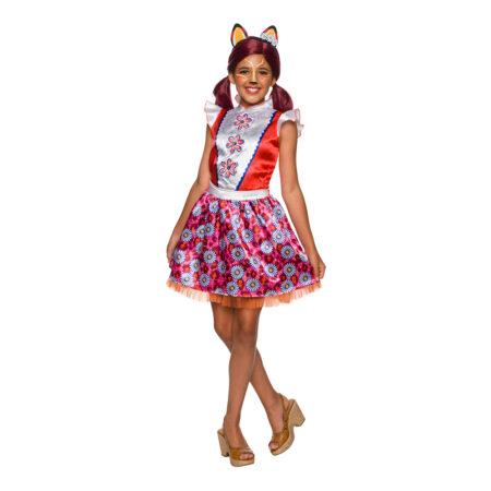 felicity fox enchantimals kostume børnekostume fastelavnskostume til pige