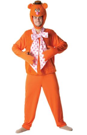 fozzy bear fossy bear kostume til voksne muppet shop kostume muppet babies kostume