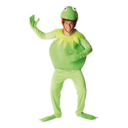 kermit kostume til voksne sidste skoledag kermit grønt kostume 80er fest kostume muppet babies kostume