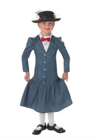 mary poppins børnekostume 302x450 - Mary Poppins kostume til børn