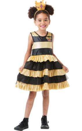 queen bee børnekostume LOL kostume til piger LOL fasteelavnskostume Queen bee udklædning LOL