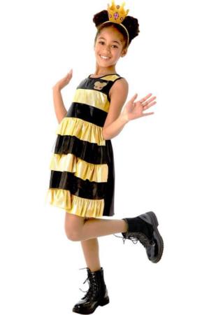 Queen bee kostume til piger lol queen bee udklædning lol surprise queenbee børnekostume
