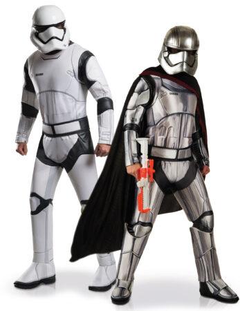 stormtrooper kostume til voksne captain phasma star wars 8 parkostume
