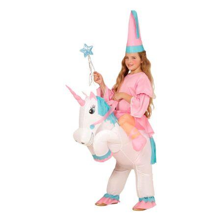 Oppustelig enhjørning kostume 450x450 - Oppustelige kostumer til børn