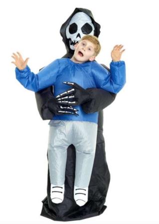 Oppusteligt døden kostume 319x450 - Oppustelige kostumer til børn