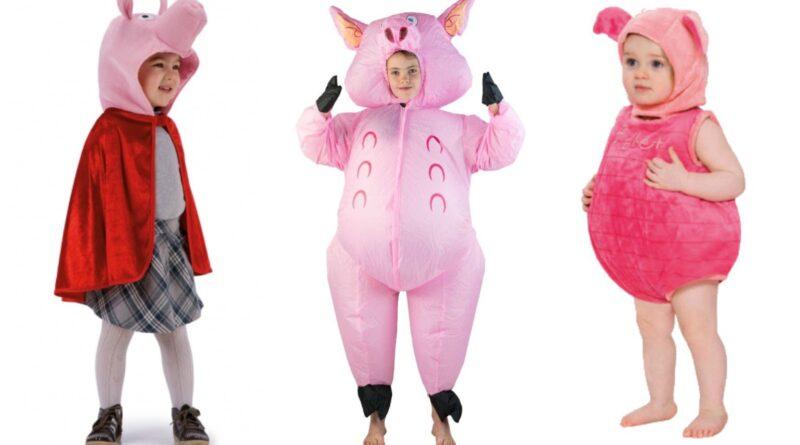 gris kostume til børn 800x445 - Gris kostume til børn og baby