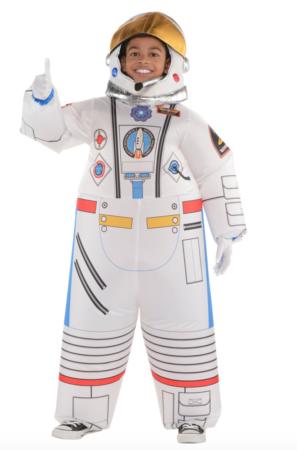 oppustelig astronaut kostume 297x450 - Oppustelige kostumer til børn