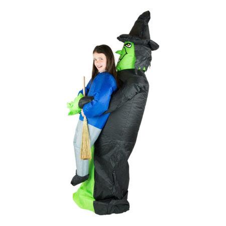 oppustelig heks børnekostume 450x450 - Oppustelige kostumer til børn