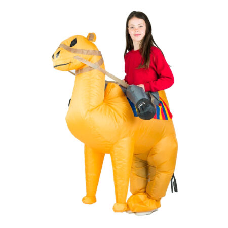 oppusteligt kamel kostume 450x450 - Oppustelige kostumer til børn
