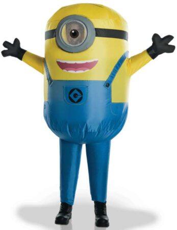 oppusteligt minions børnekostume 347x450 - Oppustelige kostumer til børn
